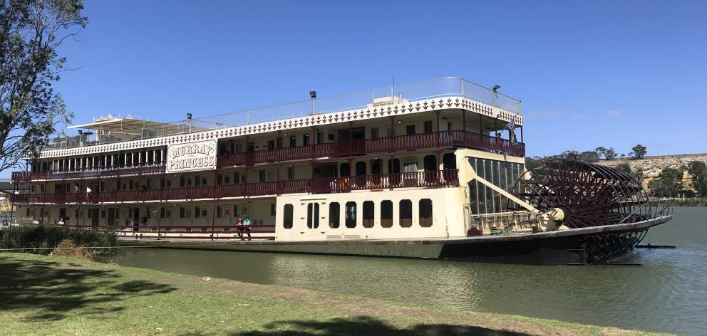 PS Murray Princess is a modern interpretation of the paddle steamers of old. PHOTOS: GILLIAN VINE...