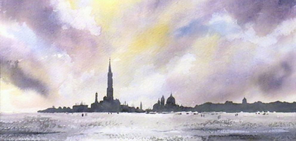 Venice Skyline, by Ron Esplin
