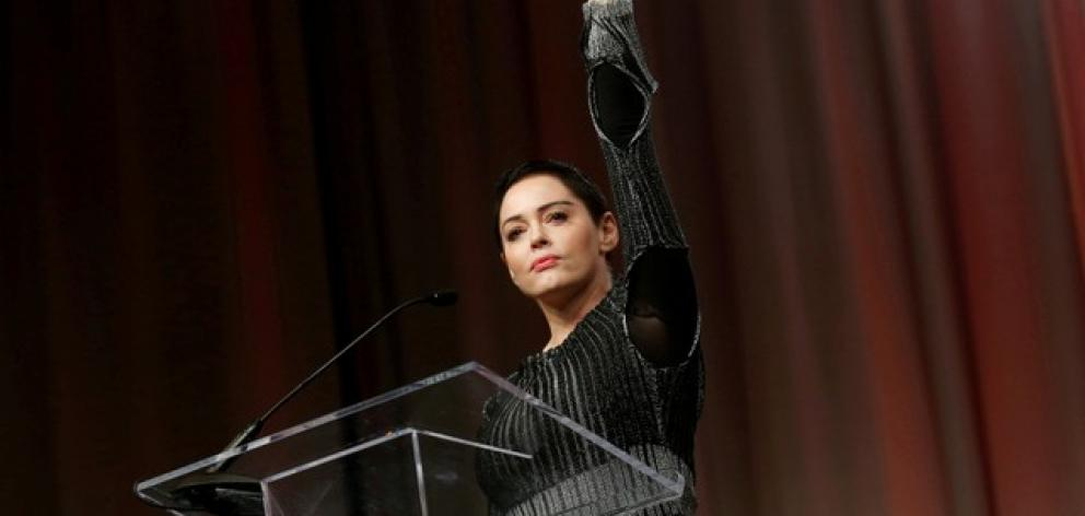 Rose McGowan, whose acting career included a featured role in the 1996 horror film 'Scream' and long-running supernatural TV series 'Charmed' , has become an outspoken advocate for sexual assault victims. Photo: Reuters