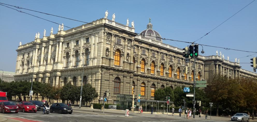 One of the many majestic buildings that dominate the Vienna landscape. PHOTOS: TONY NEILSON