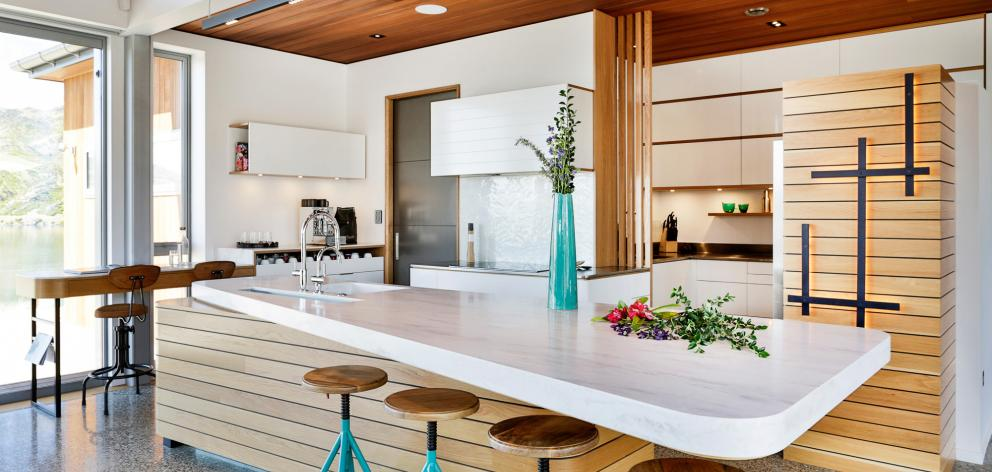 The award-winning kitchen in a Cromwell home. PHOTO: SUPPLIED