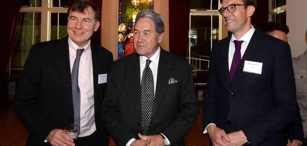 University of Otago Foreign Policy School co-directors Prof Robert Patman (left) and Prof Patrick...