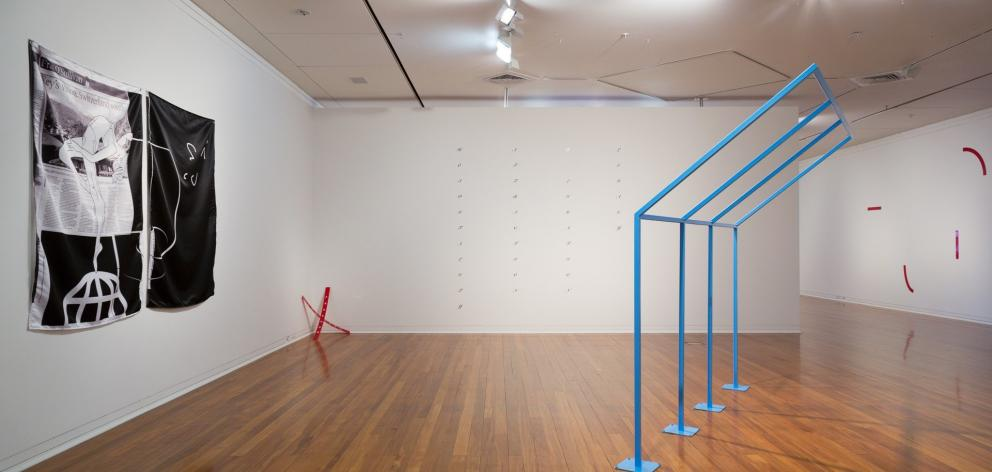 The Freedom of the Migrant (installation view), by Matthew Galloway