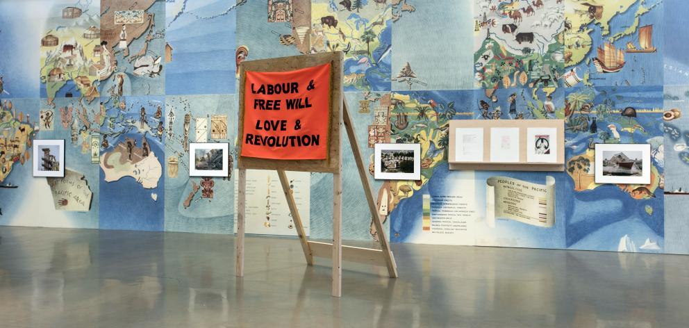 Labour & Free Will/Love & Revolution, by Louise Menzies. Photo: Sam Hartnett
