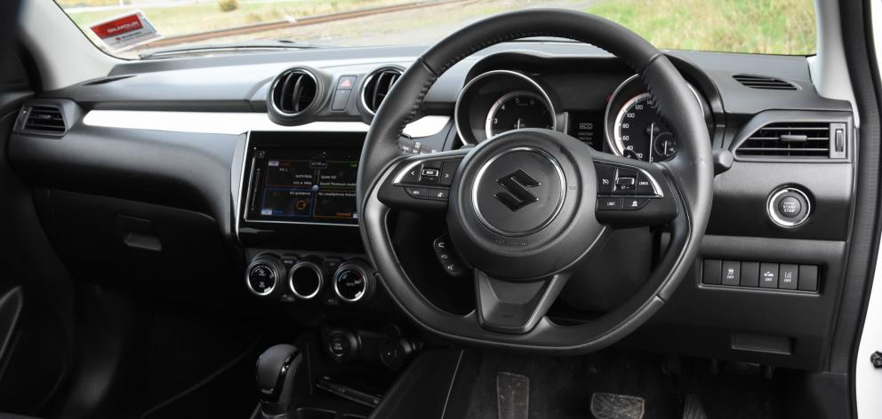 The dash board and interior trimming lacks the originality of Suzuki's Ignis or Vitara, but is...