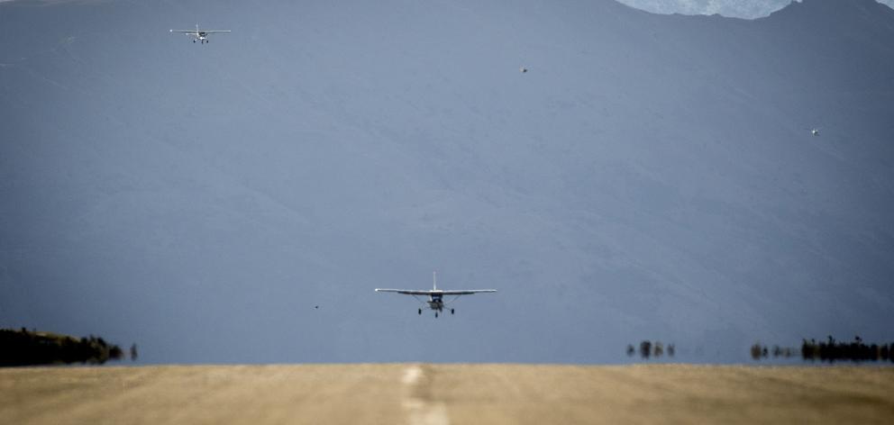 Wanaka Airport. Photo: Michael Thomas