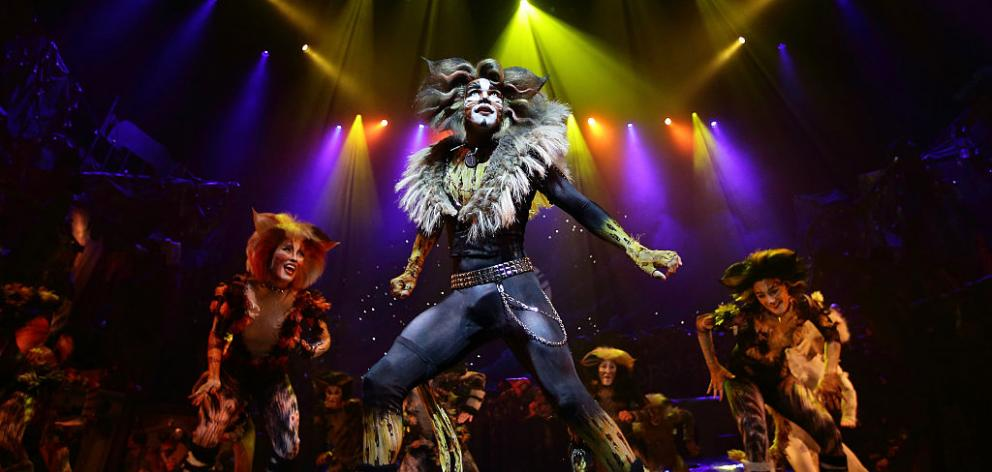 The musical 'Cats' by Andrew Lloyd Webber, holds the record for one of the longest running musical in West End history playing for 21 years. Photo: Getty Images