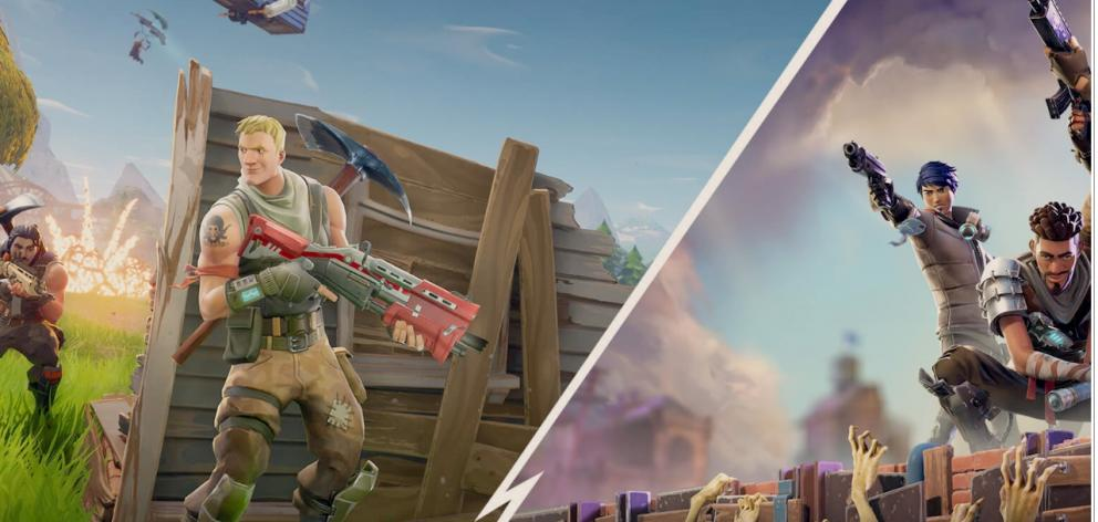 Fortnite is a multi-player apocalyptic survival video game which pits players against 99 others in a fight for survival on an island. Photo: epicgames.com