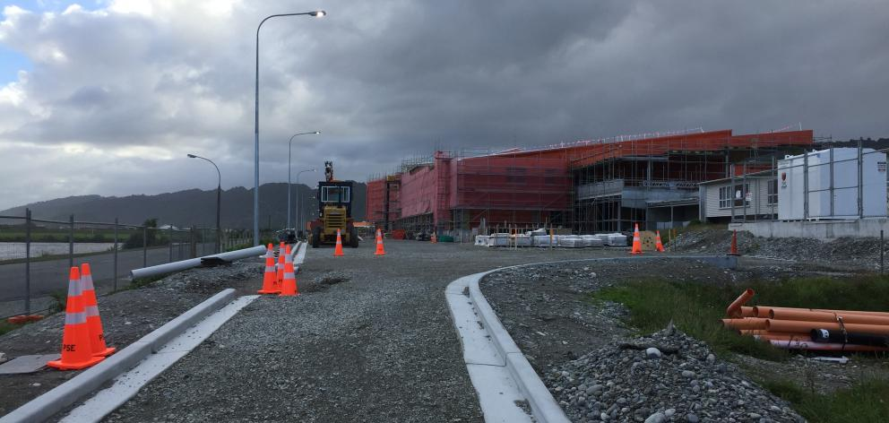 The new Greymouth Hospital site. Photo Greymouth Star