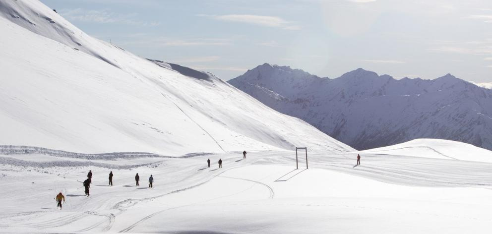 Benefits from a good start to the ski season;Treble Cone (pictured) opened five days early this...