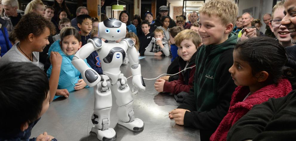 There were plenty of amused children at the Australasian launch of robot Nao 6 at a New Zealand...