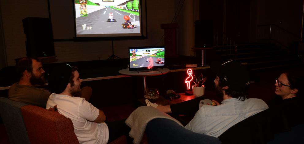 ''King of Kart'' co-ordinators (from left) Oli Cameron, Scotty Godsall, Luke Matsopoulos and Emma...