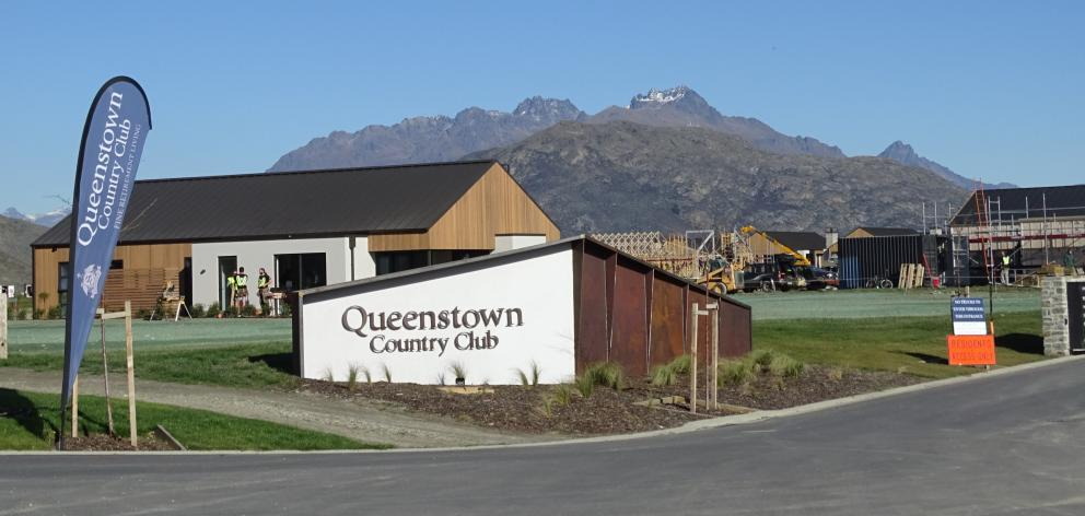 Several items of plumbing, electrical and concrete cutting equipment were taken from containers stored at the site at Queenstown Country Club. Photo:Tracey Roxburgh