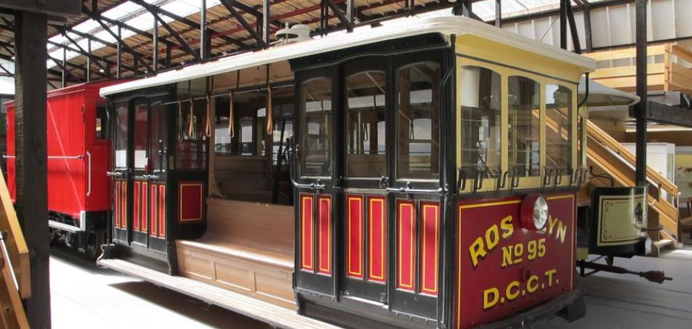 Roslyn No95 cable car will soon return from Christchurch to Dunedin to be featured at the new tram shed in Mornington. Photo: ODT files