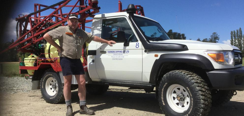 Centre Bush contractor David Kean is the new president of Rural Contractors New Zealand. Photo: Supplied
