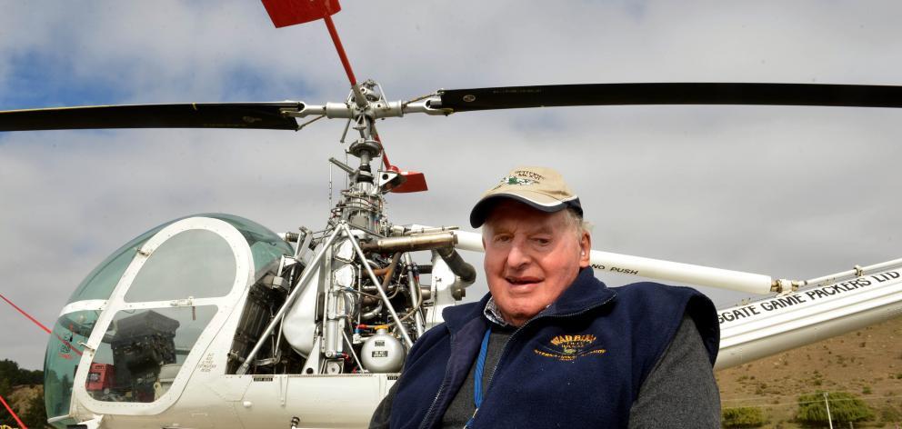 Warbirds over Wanaka founder Sir Tim Wallis. Photo: Stephen Jaquiery