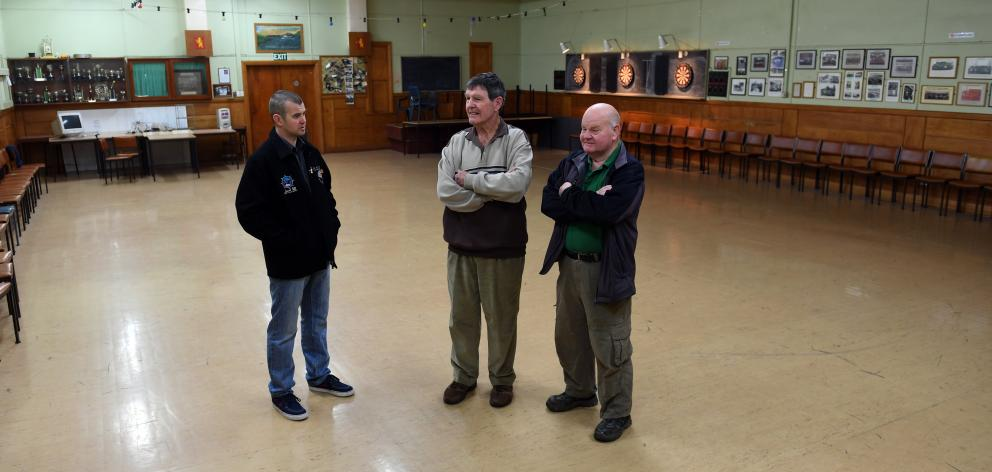 Incumbent Maritime Union of New Zealand Port Chalmers branch president Tim Camp (L), former...