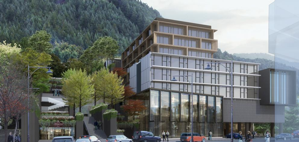 A hotel and retail complex planned for Shotover St is one of more than a dozen new major hotel...