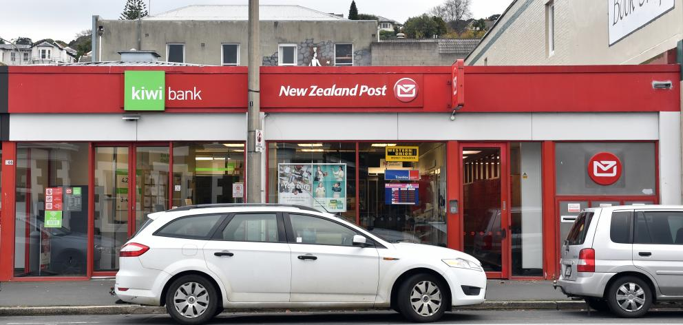 The Dunedin North New Zealand Post and Kiwibank in Great King St.