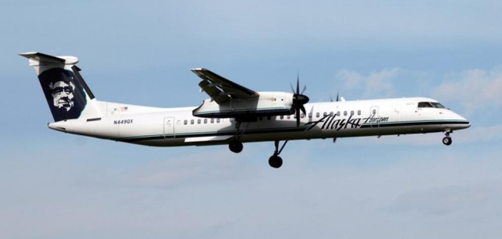 A Horizon Air Bombardier Dash 8 Q400 like the one that was stolen. Photo: Reuters