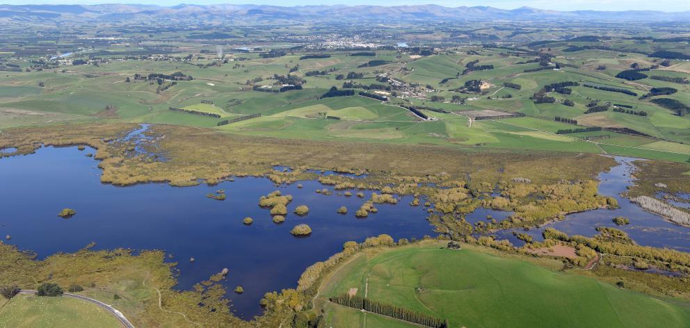 Lake Tuakitoto, near Kaitangata in South Otago. Photo: Stephen Jaquiery