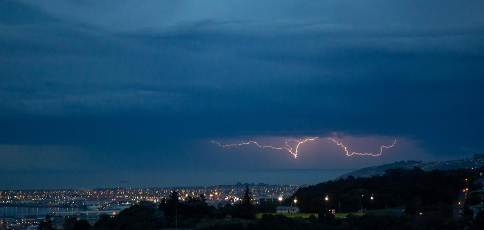 The Lightning Forks In The Sky As Seen From Dalmore Photo Ruth Topless