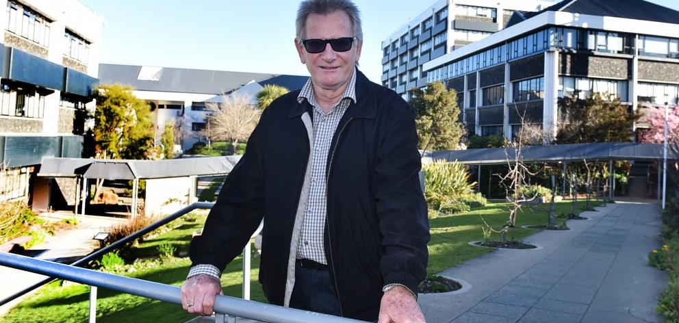 Otago Polytechnic chief executive Phil Ker at the site where a new trades and engineering...