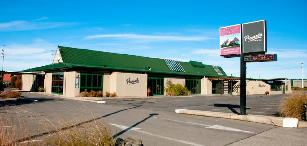 Clutha Licensing Trust headquarters Rosebank Lodge, in Balclutha, will be one of the businesses sold if the public supports the trust's latest proposals. Photo: Supplied