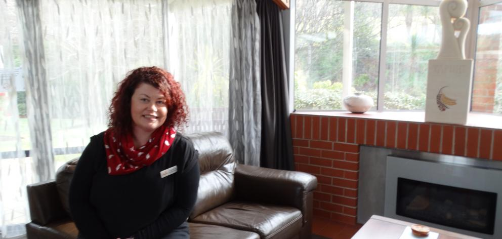 Otago Community Hospice occupational therapist Christina Bowen looks forward to welcoming patients, carers and families to a new series of education sessions later this month through the Kowhai Programme. Photo:: Brenda Harwood