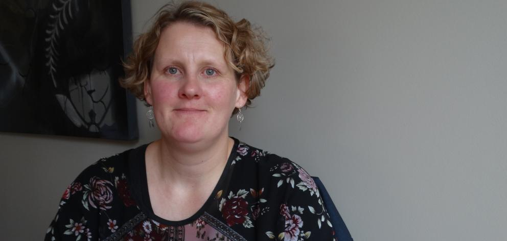 Former Greater Green Island Community Network worker and current Saddle Hill Community Board member Leanne Stenhouse is moving on to anew community role. Photo: Brenda Harwood