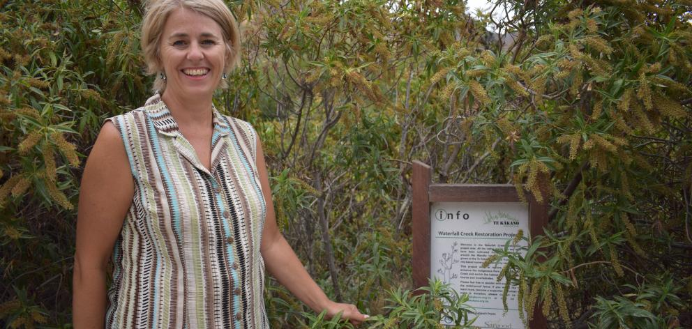 Upper Clutha Lakes Trust water project manager Megan Williams is confident funds for riparian...