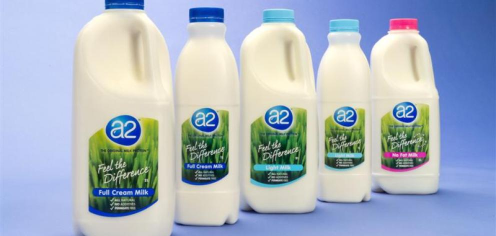 A2 Milk. Photo: Supplied