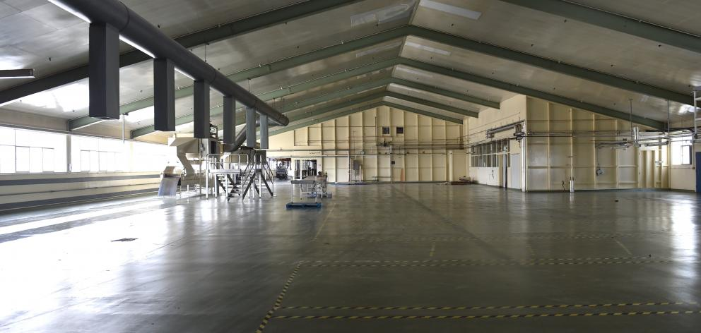 The empty factory of Cadbury after the 2018 closure. Photo: Peter McIntosh