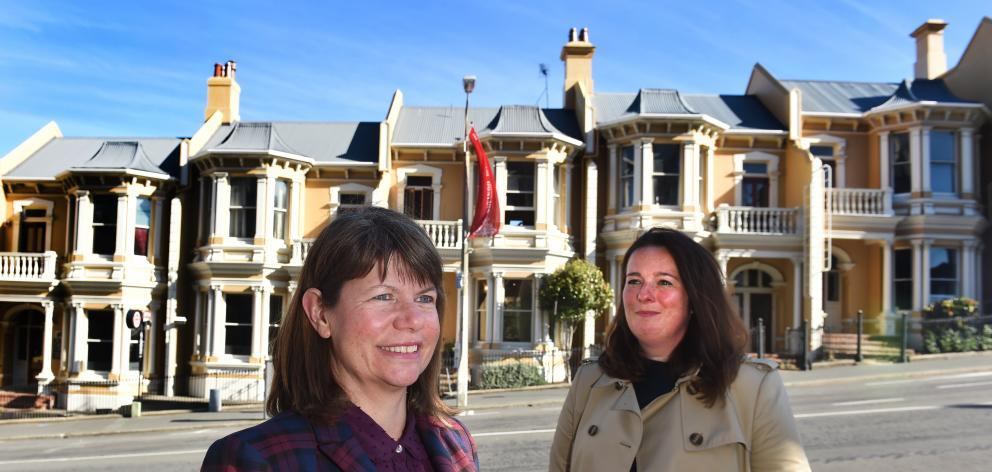 The Dunedin City Council has recruited Andrea Farminer (left) as the council's new heritage adviser, and Kathryn Ward (right) as its new principal urban designer. Photo: Peter McIntosh