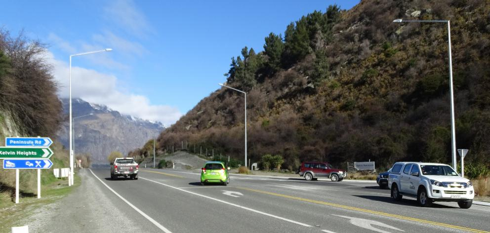 State Highway 6, at the intersection with Kelvin Heights, showed the biggest increase in traffic...