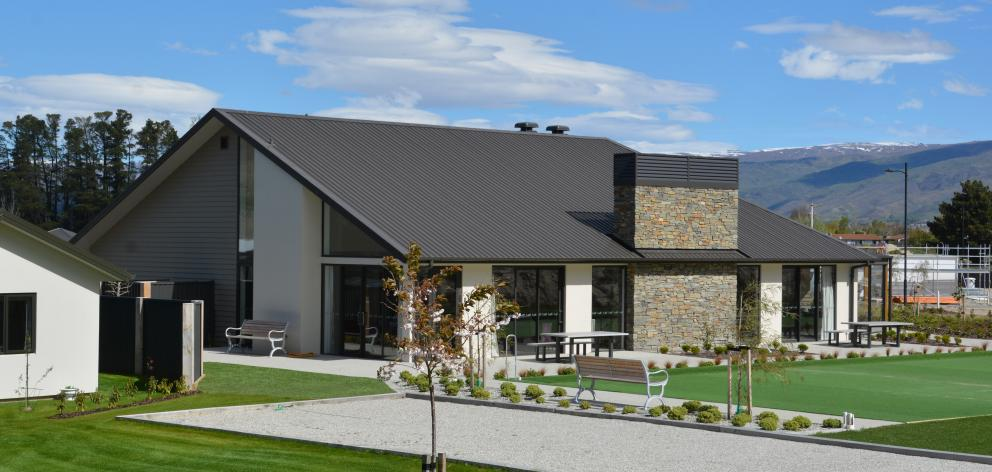The lodge at Cromwell's Golden View Lifestyle Village. The official opening of the complex was held last week and construction of an aged care facility has just been confirmed. Photo: Ange Wylie