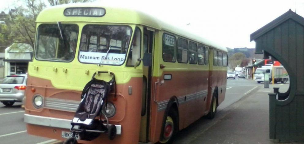 We've been having a bit of a debate about the colours on the old Dunedin buses. Caramel and maize...