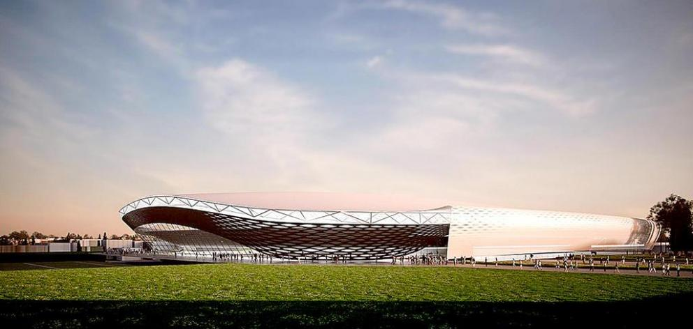 Stewart Barnett said the new multi-purpose arena needs to be supported by regional councils as well as the city council. Photo: Star.kiwi