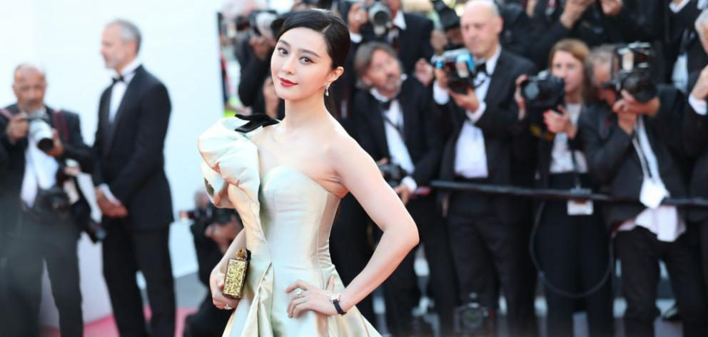 Fan Bingbing attends the screening of 'Ash Is Purest White (Jiang Hu Er Nv)' during the 71st...