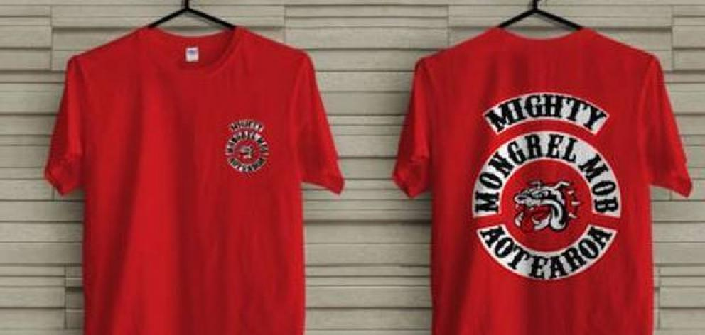 Members of the public are being warned not to buy knock-off Mongrel Mob clothing that is currently sold on an overseas website. Photo: AliExpress
