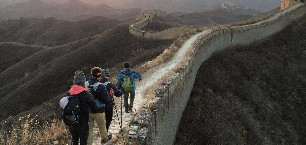 Team See Possibilities take on the 100km epic endurance challenge on the Great Wall of China in...