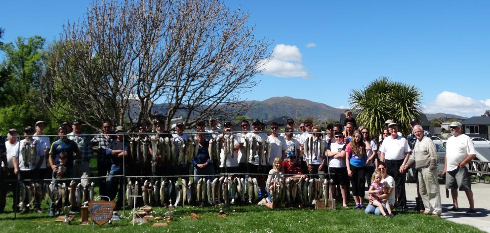 Yesterday marked the 50th annual Luggate Fishing Tournament and the number of anglers and fish...
