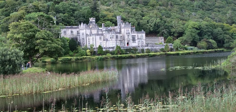The 19th-century castle of Kylemore in Connemara.