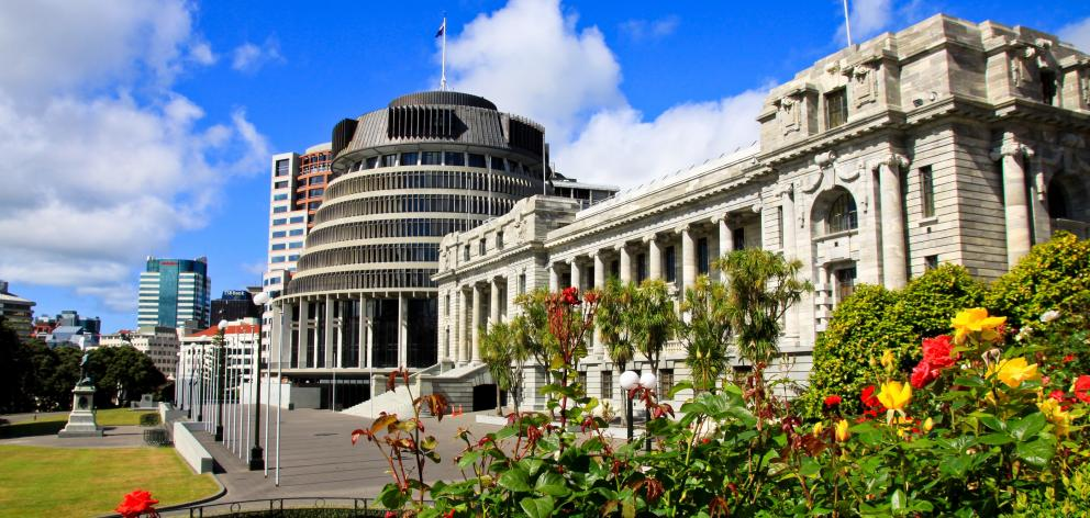 NZ Parliament buildings Getty Images