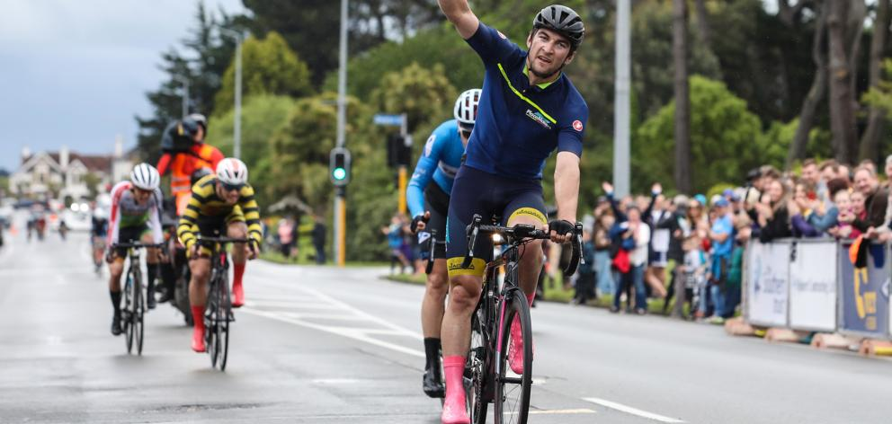 Dylan Kennett wins the final stage.
