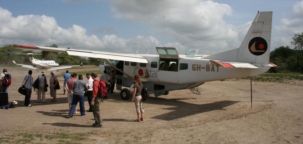 Most ''bush'' planes in safari countries such as Kenya, Uganda and Tanzania, where Coastal...