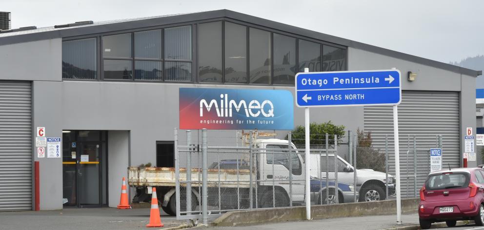 Milmeq engineering, in Strathallan St, Dunedin. Photo: Gregor Richardson