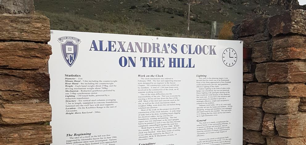 Alexandra's clock is holding its 50th birthday bash today.