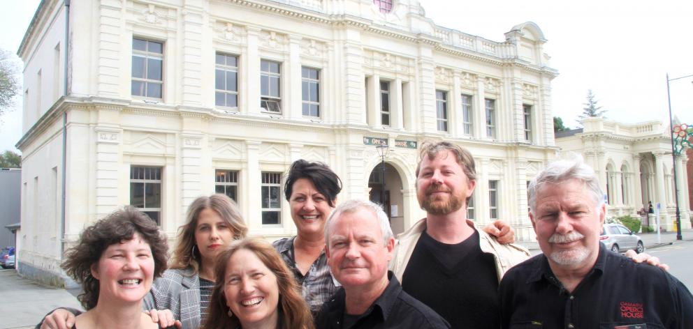 Oamaru Opera House staff (from left) Carla Arlidge, Veronika Brylinska, Maddie Maxwell, Frances...