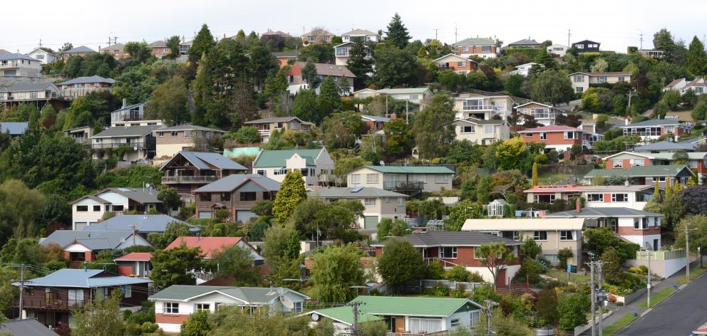 The median house price in Dunedin has risen 14.3% since last November. Photo: Gerard O'Brien